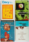Books:Science Fiction & Fantasy, [Jerry Weist]. Edgar Pangborn. Group of Four Books. Various, 1953-1983. Three are first edition, first printing. Mirror fo... (Total: 4 Items)