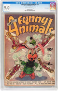 Golden Age (1938-1955):Funny Animal, Funny Animals #37 Crowley Copy pedigree (Fawcett Publications,1946) CGC VF/NM 9.0 Cream to off-white pages....