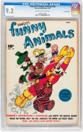 Golden Age (1938-1955):Funny Animal, Funny Animals #39 Crowley Copy pedigree (Fawcett Publications,1946) CGC NM- 9.2 Cream to off-white pages....