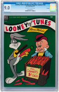 Golden Age (1938-1955):Cartoon Character, Looney Tunes and Merrie Melodies Comics #149 File Copy (Dell, 1954)CGC VF/NM 9.0 Off-white to white pages....
