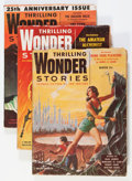 Pulps:Science Fiction, Thrilling Wonder Stories Box Lot (Standard, 1938-53) Condition:Average GD/VG....