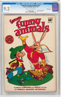 Golden Age (1938-1955):Funny Animal, Funny Animals #57 Crowley Copy pedigree (Fawcett Publications,1947) CGC NM- 9.2 Cream to off-white pages....