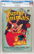 Golden Age (1938-1955):Funny Animal, Funny Animals #58 Crowley Copy/File Copy (Fawcett Publications,1948) CGC VF/NM 9.0 Cream to off-white pages....