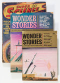 Pulps:Science Fiction, Assorted Science Fiction Pulps Box Lot (Various, 1940s-'50s)Condition: Average GD/VG....