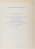 Books:Natural History Books & Prints, Joseph C. Greene. With ALS Laid In. A Review of the Literature on the Longjaw Mudsucker. Ca. State College at Long B...