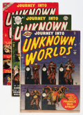 Golden Age (1938-1955):Horror, Journey Into Unknown Worlds #11, 12, and 18 Group (Atlas,1951-52).... (Total: 3 Comic Books)