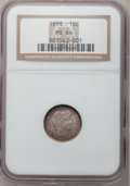 Barber Dimes: , 1899 10C MS64 NGC. NGC Census: (85/50). PCGS Population (84/44).Mintage: 19,580,846. Numismedia Wsl. Price for problem fre...