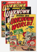 Golden Age (1938-1955):Horror, Journey Into Unknown Worlds Group (Atlas, 1951).... (Total: 4 ComicBooks)