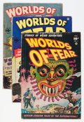 Golden Age (1938-1955):Horror, Worlds of Fear #3-8 Group (Fawcett Publications, 1952-53)....(Total: 6 Comic Books)