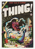 Golden Age (1938-1955):Horror, The Thing! #17 (Charlton, 1954) Condition: GD/VG....