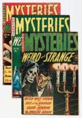 Golden Age (1938-1955):Horror, Mysteries Weird and Strange Group (Superior, 1953-55) Condition:Average VG except as noted.... (Total: 7 Comic Books)