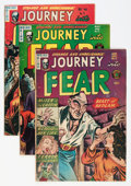 Golden Age (1938-1955):Horror, Journey Into Fear Group (Superior, 1952-54).... (Total: 10 ComicBooks)