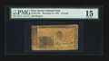 Colonial Notes:New Jersey, New Jersey December 31, 1763 £3 PMG Choice Fine 15.. ...