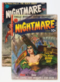 Golden Age (1938-1955):Horror, Nightmare #1 and 2 Group (Ziff-Davis, 1952).... (Total: 2 ComicBooks)
