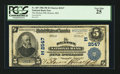 National Bank Notes:Maryland, Denton, MD - $5 1902 Plain Back Fr. 607 The Denton NB Ch. #(E)2547. ...
