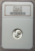 Roosevelt Dimes, 1949-S 10C MS68 W NGC. NGC Census: (12/0). PCGS Population (3/0).Mintage: 13,510,000. Numismedia Wsl. Price for problem fr...