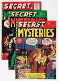 Golden Age (1938-1955):Horror, Secret Mysteries #16-19 Group (Ribage Publishing, 1954-55)Condition: Average VG.... (Total: 4 Comic Books)
