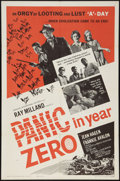 """Movie Posters:Science Fiction, Panic in Year Zero (American International, 1962). One Sheet (27"""" X 41"""") Style A. Science Fiction.. ..."""