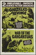 "Godzilla's Revenge/War of the Gargantuas Combo (Maron, R-1970s). One Sheet (27"" X 41""). Science Fiction"