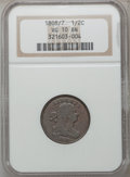 Half Cents: , 1808/7 1/2 C VG10 NGC. NGC Census: (4/20). PCGS Population (7/52).Mintage: 400,000. Numismedia Wsl. Price for problem free...