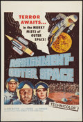 "Movie Posters:Science Fiction, Assignment Outer Space (Four Crown, 1962). One Sheet (27"" X 41""). Science Fiction.. ..."