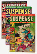Golden Age (1938-1955):Horror, Suspense Group (Atlas, 1951-52).... (Total: 6 Comic Books)
