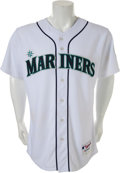 "Baseball Collectibles:Uniforms, 2009 Ichiro Suzuki Game Worn Seattle Mariners Jersey--A NewJapanese ""Hit King"" is Crowned!..."
