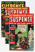 Golden Age (1938-1955):Horror, Suspense Group (Atlas, 1952-53).... (Total: 6 Comic Books)