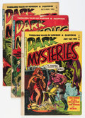 Golden Age (1938-1955):Horror, Dark Mysteries #1-5 Group (Master Publications, 1951-52)....(Total: 5 Comic Books)