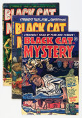 Golden Age (1938-1955):Horror, Black Cat Mystery Group (Harvey, 1952-54).... (Total: 10 ComicBooks)