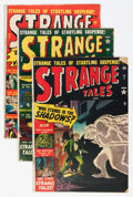 Golden Age (1938-1955):Science Fiction, Strange Tales #7-10 Group (Atlas, 1952) Condition: Average GD/VG.... (Total: 4 Comic Books)