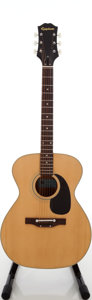 Musical Instruments:Acoustic Guitars, 1970s Epiphone 6732E Natural Acoustic Guitar, Serial # 131916....