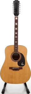 Musical Instruments:Acoustic Guitars, 1970s Epiphone FT-165 12-String Natural Acoustic Guitar....