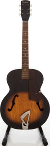 Musical Instruments:Acoustic Guitars, 1970s Harmony Sunburst Archtop Acoustic Guitar....
