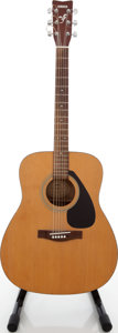 Musical Instruments:Acoustic Guitars, 1991 Yamaha F-310 Natural Acoustic Guitar, Serial # 91018017....
