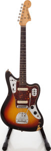Musical Instruments:Electric Guitars, 1964 Fender Jaguar Sunburst Solid Body Electric Guitar, Serial #L26138....