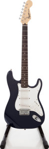 Musical Instruments:Electric Guitars, 2003 Fender Squire Bullet Solid Body Electric Guitar, Serial #IC030924119....