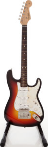 Musical Instruments:Electric Guitars, Fender Stratocaster Copy Sunburst Solid Body Electric Guitar....