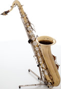 Musical Instruments:Horns & Wind Instruments, 1970s Buescher 400 Brass Tenor Saxophone, Serial # 707637....