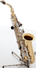 Musical Instruments:Horns & Wind Instruments, 1990s Yamaha YAS-23 Brass Alto Saxophone, Serial # 262958....
