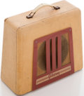 Musical Instruments:Amplifiers, PA, & Effects, 1950s Gibson BR-9 Tan Guitar Amplifier...