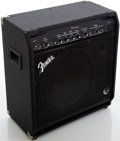 Musical Instruments:Amplifiers, PA, & Effects, 1990s Fender Bassman 100 Black Guitar Amplifier, Serial # M927027....