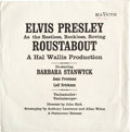 Music Memorabilia:Recordings, Elvis Presley Roustabout Promotional Sleeve/ Envelope (RCA,1964)....
