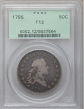 Early Half Dollars, 1795 50C 2 Leaves Fine 12 PCGS. O-105, R.4....