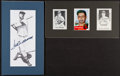 Baseball Collectibles:Others, Ted Williams and DiMaggio Brothers Signed Memorabilia Lot....
