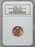 Lincoln Cents, 1984 1C Double Ear MS66 Red NGC. NGC Census: (110/108). PCGSPopulation (132/251). Numismedia Wsl. Price for problem free ...