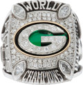 Football Collectibles:Others, 2010 Green Bay Packers Super Bowl XLV Championship Player'sRing....