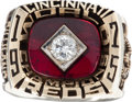 Baseball Collectibles:Others, 1975 Cincinnati Reds World Championship Ring. ...