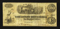 Confederate Notes:1862 Issues, T40 $100 1862 PF-2 Cr. 306. ...