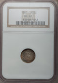 Seated Half Dimes: , 1861 H10C MS62 NGC. NGC Census: (57/330). PCGS Population (67/242).Mintage: 3,361,000. Numismedia Wsl. Price for problem f...